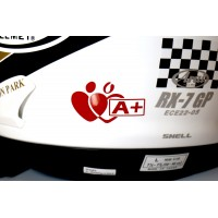 Blood group sticker