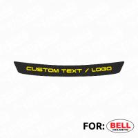 Bell Helmet visor strip