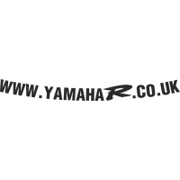www.YamahaR.co.uk visor decal V2