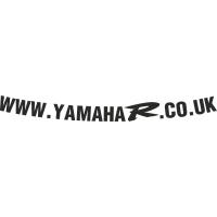 www.YamahaR.co.uk visor decal V2