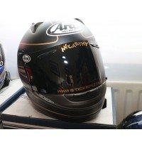 Custom  UPPER visor decal