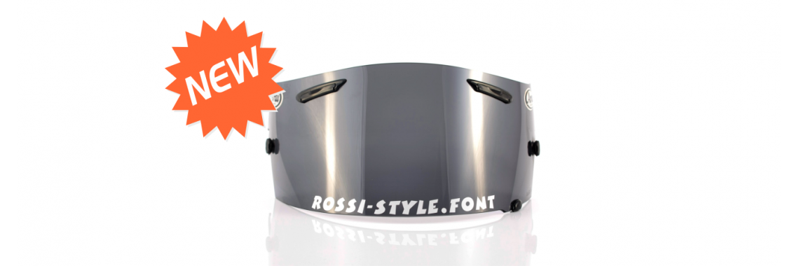 Custom Visor Decal Rossi