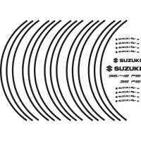 SV wheel stripes with logo