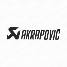 Akrapovic Logo Sticker