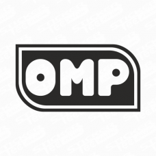 OMP Retro Logo Sticker