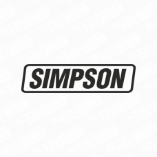 Simpson Logo Sticker