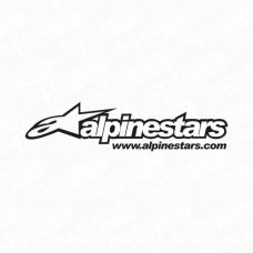 Alpinestars Logo Sticker