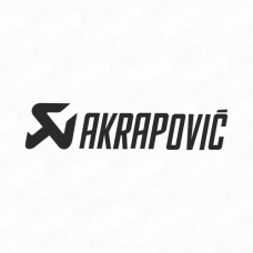 Akrapovic Logo Sticker