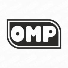 OMP Retro Logo Sticker