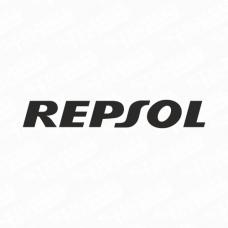 Repsol Text Logo Sticker