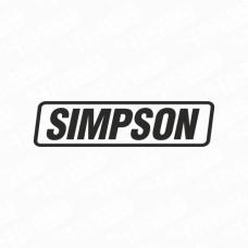 Simpson Logo Sticker