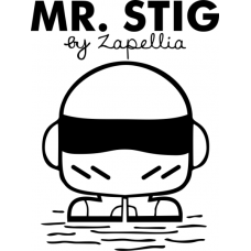 'Mr. Stig' Men's T-Shirt