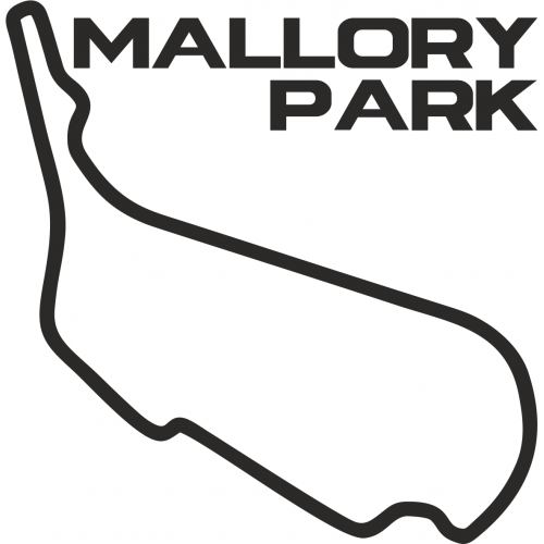 mallory park circuit outline