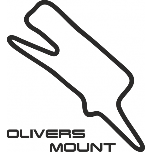 olivers mount circuit outline