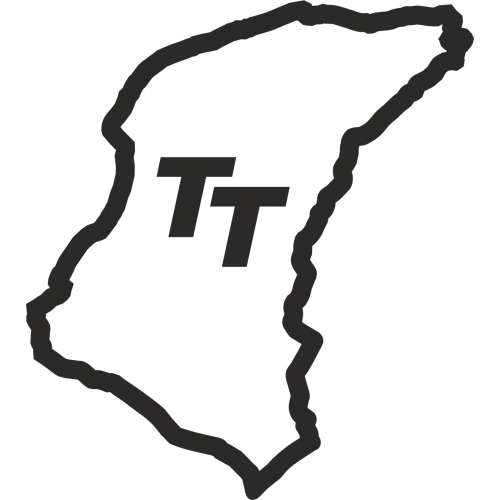 isle of man tt circuit outline