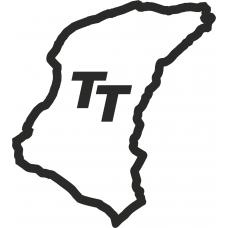 Isle of Man TT circuit outline