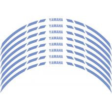 Yamaha Wheel stripes 8mm