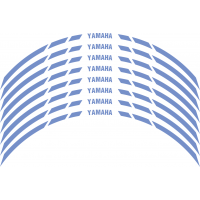 Yamaha Wheel stripes 8mm