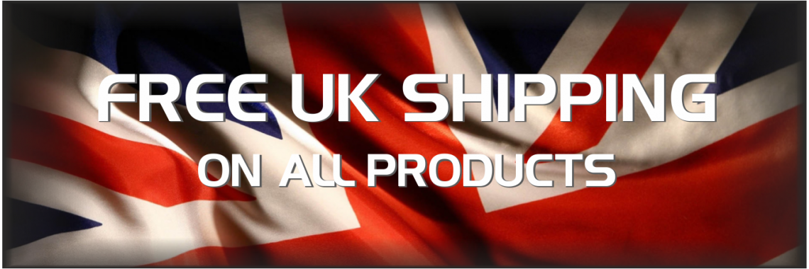 Free UK Shipping on all items!