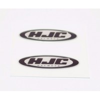 HJC domed visor decal