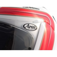 Arai logo domed visor decal