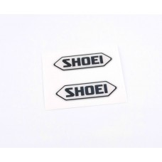Shoei logo domed visor decal
