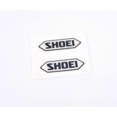 Shoei logo domed visor decal